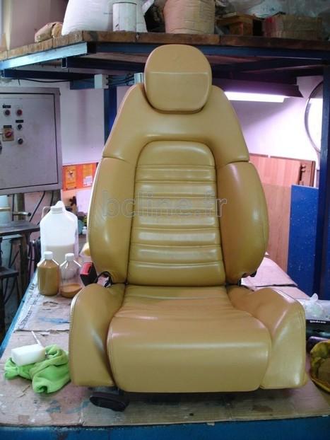 Nettoyage et recoloration d'un fauteuil en cuir d'une Ferrari - BC LINE Officiel | Entretien cuir et bois | Scoop.it