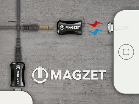 """Magzet uma ficha áudio magnética que acaba com os """"puxões""""   Heron   Scoop.it"""