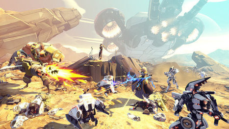 With Battleborn, Gearbox looks to set a new standard for co-op shooters | GameJamTitans | Scoop.it