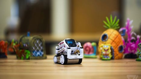Anki's Cozmo robot is the new, adorable face of artificial intelligence | Future Trends | Scoop.it