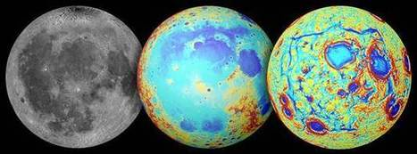 """NASA Mission Points to Origin of """"Ocean of Storms"""" on Earth's Moon 