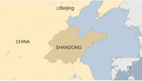 China explosion: Fires at Shandong chemical plant - BBC News | What Fascinates Me About China | Scoop.it
