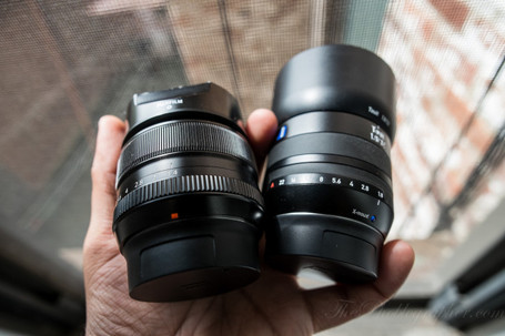 Lens Comparison: Zeiss 32mm f1.8 vs Fujifilm 35mm f1.4 (X Mount) | Chris Gampat | Fuji X-Pro1 | Scoop.it