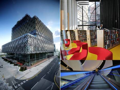 First look: Birmingham's new £188m library - a sparkling cornerstone of the city's rebirth | Library Design etc - Design de bibliothèques etc | Scoop.it