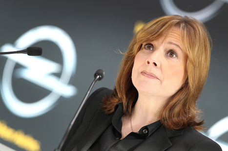 GM's first female CEO makes half of what her predecessor did | State of the Union | Scoop.it