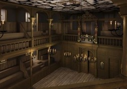 Images Of New Indoor Theatre At Shakespeare's Globe | Londonist | Romeo and Juliet - GCSE English | Scoop.it