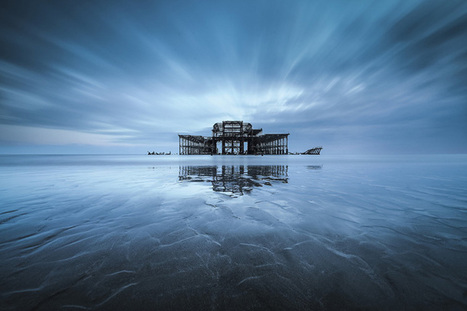 Vibrant Landscapes Show the Gradual Decay of Brighton's West Pier | Backlight Magazine. Photography and community. | Scoop.it