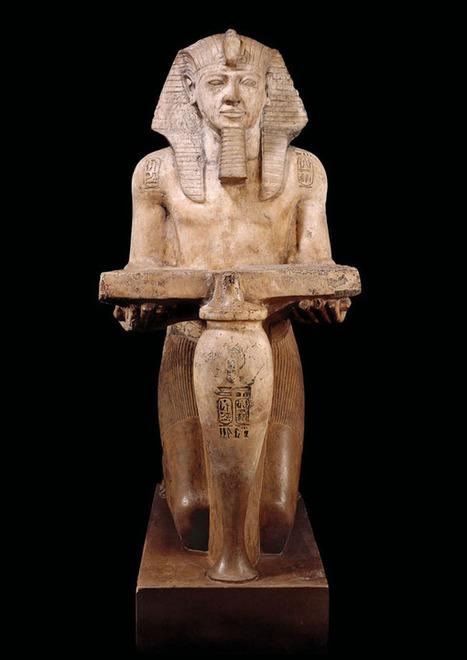 Ancient Egyptian Art, Painting, Sculpture   Kingdom of Divinities- El Reino de Divinidades   Scoop.it