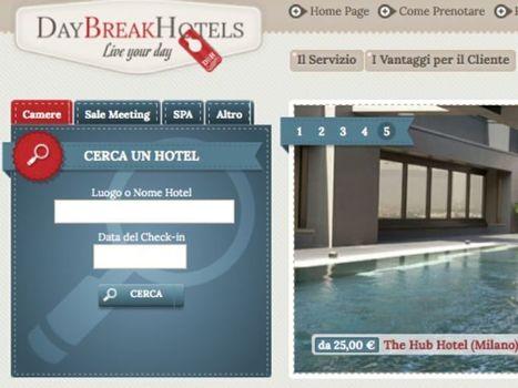 Nasce DayBreakHotels.com, piattaforma di prenotazione online per camere e servizi alberghieri a uso esclusivamente diurno   Studio Doc - Eventi e servizi di marketing turistico   Scoop.it