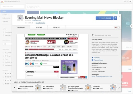 Forget adblockers – one local newspaper site has inspired a 'content blocker' | Multimedia Journalism | Scoop.it