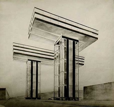 architectureofdoom:Wolkenbügel, El Lissitzky, 1923-23 | Affinities | Scoop.it