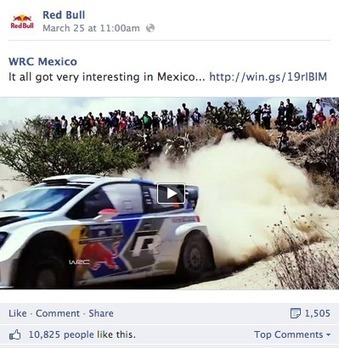Are Brands Measuring the Wrong Type of Engagement? (Red Bull as a Case Study) | e-commerce & social media | Scoop.it