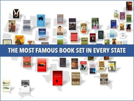This Map Shows The Most Famous Book Set In Every State | Books and Reading | Scoop.it