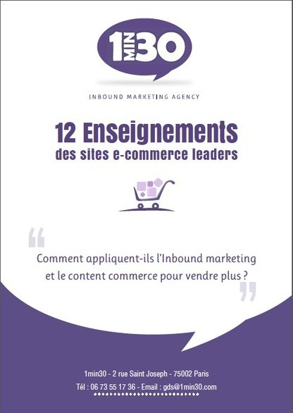 12 Enseignements des sites e-commerce leaders | Actua web marketing | Scoop.it