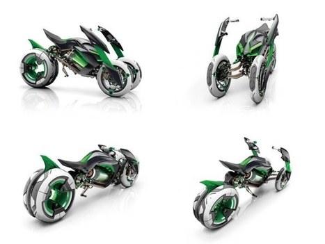 Yamaha's 850cc sports three-wheeler MWT-9 concept | Piques My Interest | Scoop.it