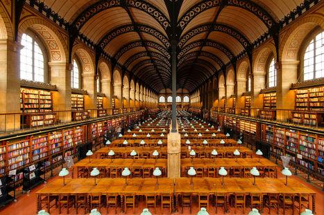 La Bibliothèque Sainte-Geneviève modifie son règlement pour autoriser la photographie personnelle. Et la vôtre ? | Libertés Numériques | Scoop.it