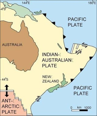 Australian Plate | Deep Earth Tectonic Plates | Scoop.it