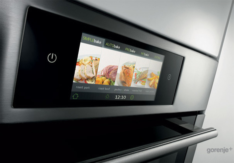 iChef+ Oven Touch Control by Gorenje | Art, Design & Technology | Scoop.it