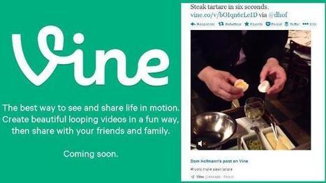 Se acerca el lanzamiento de Vine: sus vídeos ya se reproducen desde Twitter | Redes Sociales ES | Scoop.it