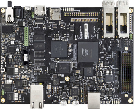 Kondor AX FPGA + ARM Networking Board Targets Base Stations, IoT Gateways and IP Cameras | Embedded Systems News | Scoop.it