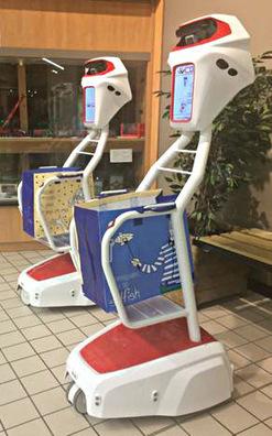Auchan et Intermarché testent un robot assistant de courses / Les actus / LA DISTRIBUTION - LINEAIRES, le magazine de la distribution alimentaire | Agroalimentaire Distribution Marketing et Alimentation | Scoop.it