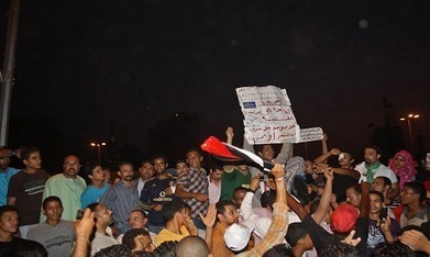 Molotovs and gun shots rain down near Tahrir - Politics - Egypt - Ahram Online | Egypt | Scoop.it