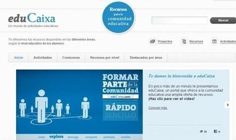 Dos nuevas plataformas educativas con contenido especial para docentes | Tecnología Educativa S XXI | Scoop.it