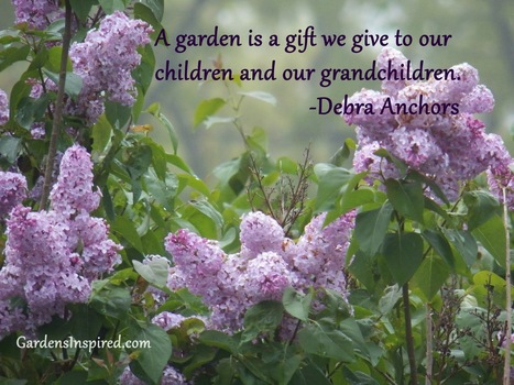A garden is a gift | The Muse | Scoop.it