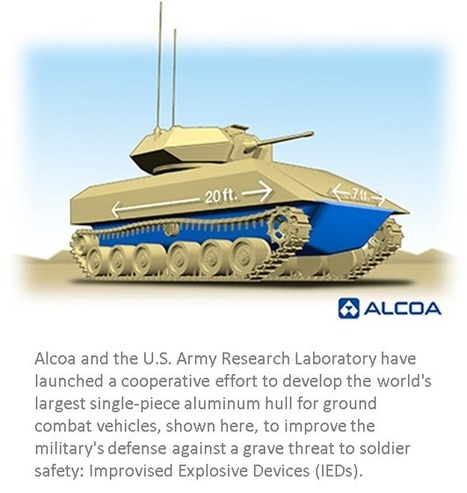 """DARPA developing single-piece aluminium hull for """"IED-proof"""" armoured vehicle 