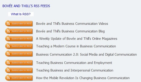 12 Free Business Communication RSS Newsfeeds | Exclusive Teaching Resources for Business Communication Instructors | Scoop.it