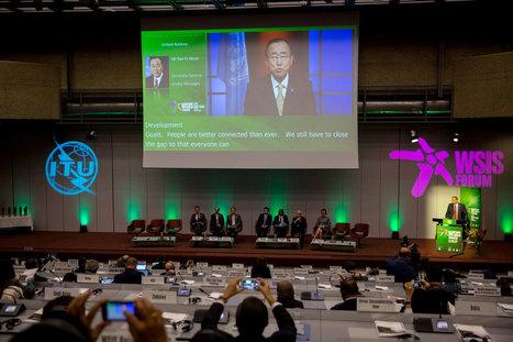 At high-level forum, UN spotlights power of information technology in advancing development | ITU headlines | Scoop.it