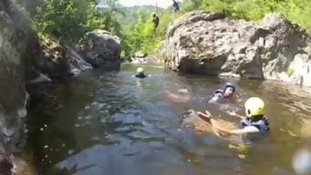 Saint-Sauveur-de-Montagut : j'ai testé pour vous... la randonnée aquatique | Tourisme en Ardèche | Scoop.it