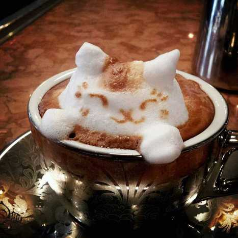Masterpiece In A Mug : Japanese Latte Art Will Perk You Up | The Blog's Revue by OlivierSC | Scoop.it