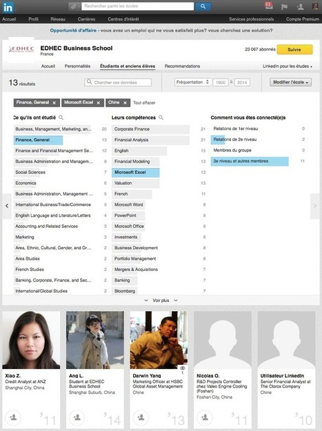 Comment les écoles et les recruteurs peuvent-ils utiliser les pages Universités de LinkedIn ? - #rmsnews | Going social | Scoop.it
