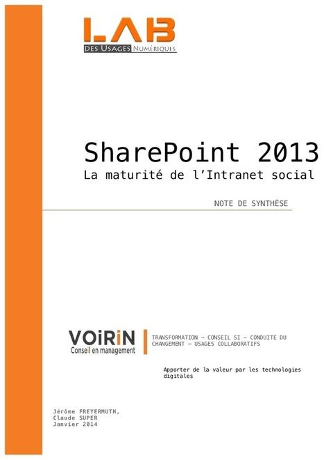 SharePoint 2013 la maturité de l'intranet socia...   SharePoint 2013   Scoop.it