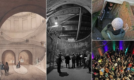 Brunel's Eighth Wonder of the World restored: Grand entrance to world's first underwater tunnel will return to glory after 145 years | British Genealogy | Scoop.it