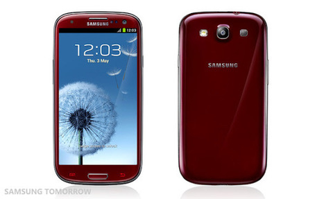 Samsung Galaxy S3 III New Colors Released - Amber Brown, Sapphire Black, Garnet Red, Titanium Grey | Geeky Android - News, Tutorials, Guides, Reviews On Android | Android Discussions | Scoop.it