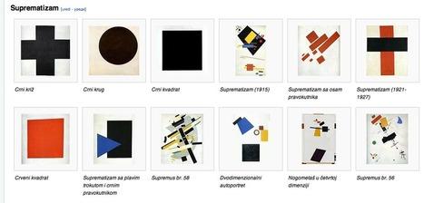 La abstracción geométrica. Rusia: El Rayonismo, El Suprematismo, El Constructivismo. Holanda: De Stijl y el Neoplasticismo de Mondrian.   El arte por el arte   SEBASTIAN   Scoop.it