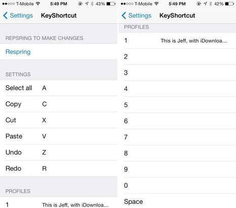 KeyShortcut Pro: add real keyboard shortcuts to iOS | Jailbreak News, Guides, Tutorials | Scoop.it