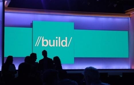 Build 2016: Microsoft mise sur une armée de robots intelligents pour les services du futur   Gadgets - Hightech   Scoop.it
