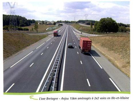 Une mise à 2X2 voies de l'axe Lorient-Roscoff réclamée | Les moyens de transports en Bretagne: atouts et faiblesses | Scoop.it