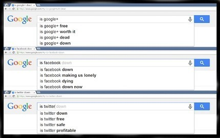 Panic panic- Twitter is dead, Facebook is dead, Google+ is dead... erm...not! | Seriously Social News | Scoop.it