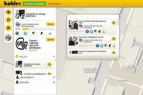 IL Y A 2 ANS ... Le CNAP fait découvrir le design graphique grâce au réseau social vocal Bobler | Clic France | Scoop.it