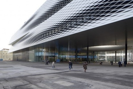 [Basel, Switzerland] Messe Basel New Hall / Herzog & de Meuron | The Architecture of the City | Scoop.it