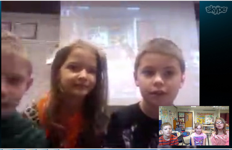 Skyping Across the Continent | Flat Classroom | Scoop.it