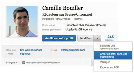 Refonte des profils du réseau social professionnel LinkedIn | Social Media Curation par Mon Habitat Web | Scoop.it