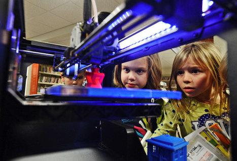 Libraries Make Space For 3-D Printers; Rules Are Sure To Follow | innovative libraries | Scoop.it