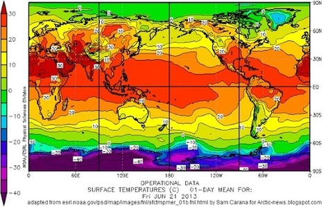 Open Water In Areas Around North Pole | Weather Disasters | Scoop.it