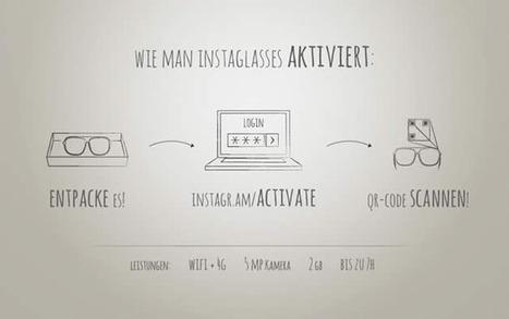 Olybop.info - Actualités Webdesign, Culture et Graphisme - » Lunettes + instagram = Instaglasses | CRAW | Scoop.it