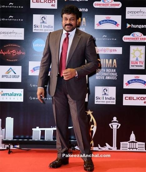 South MegaStar Chiranjeevi at SIIMA Awards 2016 | Indian Fashion Updates | Scoop.it